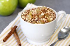 Healthy Mug Dessert Recipes: S'mores Cake in a Mug, Apple Crumble in a Mug | Hungry Girl