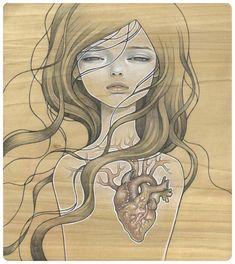Conhecem a arte de Audrey Kawasaki?