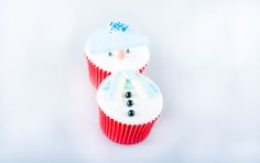Christmas Cupcakes Baby its Cold Outside