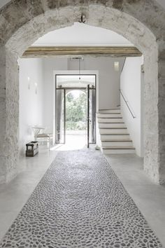 Minimal design...better off in warmer climates although underfloor heating and triple glazing could be added to increase warmth amd heat escaping in colder climates