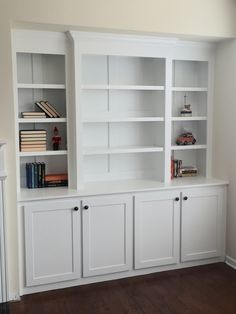 Free built-in bookcase plans