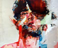 Andrew Salgado. oil on canvas, 2012