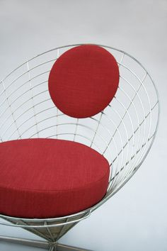 Via CH Design Furniture | Verner Panton Chair | Red