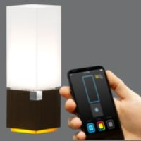 Ledy Interactive Lamp  LEDY is the first lamp controlled with iOS and Android smartphone. Discover a new way to interact with home lighting...