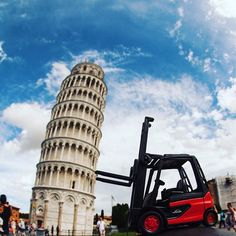 If anything can set it right, the #forklift can