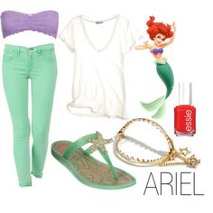 anyone who knows me knows I'd rock this just bc of the Ariel inspiration  :)
