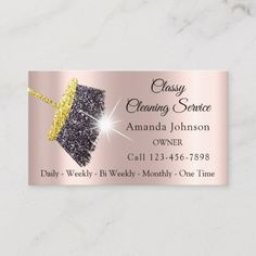 Shop Classy Cleaning Service Maid Gold Silver Rose Business Card created by luxury_luxury. Personalize it with photos & text or purchase as is! Beauty Business Cards, Cleaning Business Cards, Rose Gold Glitter, Silver Roses, Business Card Size, Business Card Design, Rose Gold Frame, Branding, Card Templates