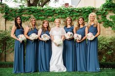 dallas wedding photographer bridal party park cities