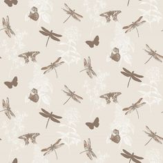 Enchanted+Wings+(664901)+-+Arthouse+Wallpapers+-+An+all+over+wallpaper+design+featuring+delicate+fluttering+butterflies.+Shown+here+in+the+copper+colourway.+Other+colourways+are+available.+Please+request+a+sample+for+a+true+colour+match.