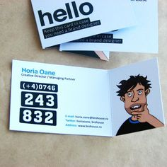 Brilliant and Illustrated Business Cards for Your Inspiration - You The Designer