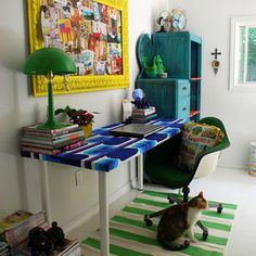 Home Office Art Room Design, Pictures, Remodel, Decor and Ideas