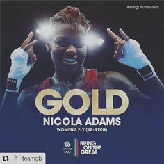 #Repost @teamgb with @repostapp ・・・ #Gold! She does it! Amazing fight from Nicola Adams and she is a Double Olympic Flyweight Boxing Champion after defending her London2012 Crown in Rio! Congratulations Nicola! 👊👊👏👌#Boxing #BringOnTheGreat #teamgb #thisgirlcan #olympicgames #girlpower