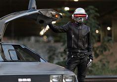 Mercenary Garage: Daft Punk  #DaftPunk #DeLorean #Mercenary #MercenaryGarage