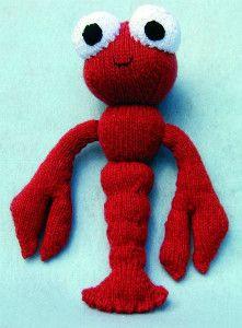 Lobster Free Knitting Pattern