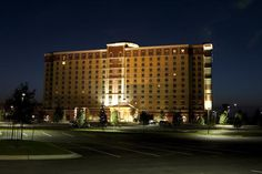 WinStar World Casino Hotel is a luxurious and elegant addition to the WinStar experience. This 12-story hotel boasts 395 rooms and suites that offer the epitome of relaxation. #ChickasawCountry #Oklahoma