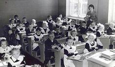 class photo, first grade, 1966