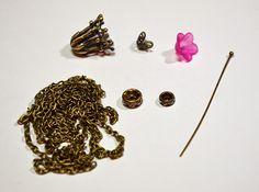 ButterBeeScraps - Beautiful Dangle Earrings - Supplies