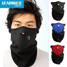 Leadbike 2016 Anti Cold Mask Warm Winter Ski Windproof Bike Bicycle Cycling Sports Half Face Neck Mask Outdoor Masks Dust #shoes, #jewelry, #women, #men, #hats, #watches, #belts