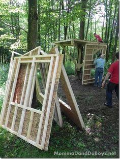 Treehouse DIY part 2