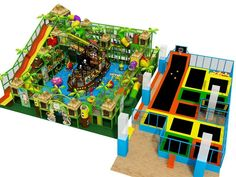 2016 hot sale trampoline park pirate ship and jungle integrated theme indoor playground equipment for kids, View trampoline park, YIDONG Product Details from Shanghai Yidong Amusement Equipment Co., Ltd. on Alibaba.com