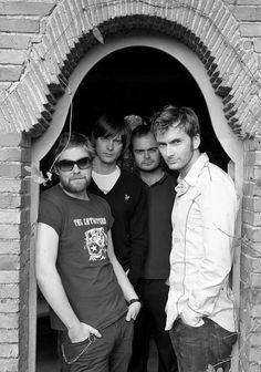 With the Kaiser Chiefs for NME  Taken by Ellis Parrinder, 2006