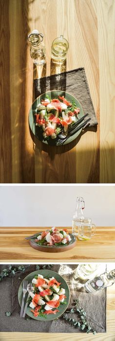 Prosciutto Crudo & Easy Appetizer Prosciutto Pear Salad 프로슈토로 만드는 애피타이저, 프로슈토 배 샐러드 #최대규도자공작실#choidaekyuceramicstudio #ceramic #seoupottery