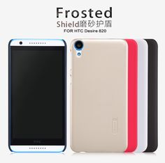 Free Shipping NILLKIN Frosted Shield Phone Armor Hard Case For HTC Desire 820 Back Cover Case Gift Screen Protector