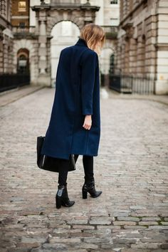 Coat: Carin Wester || Boots: Tibi || Tote: Celine 'Gusset'