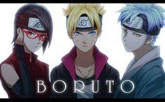 Anime Boruto: Naruto The Movie Mitsuki Sarada Uchiha Boruto Uzumaki Naruto Wallpaper Naruto Uzumaki, Naruhina, Anime Naruto, Sarada Y Sasuke, Watch Boruto, Naruto Gaiden, Uzumaki Boruto, Sasunaru, Sarada Uchiha Wallpaper
