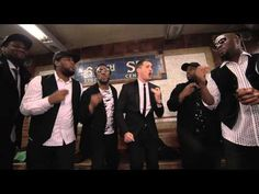 "Michael Bublé Sings in NYC Subway.  Michael Bublé took to the NYC Subway stop at W. 67th Street today for an impromptu acapella performance of ""Who's Lovin' You"" -off his new album ""To Be Loved"" - with the group Naturally 7!"