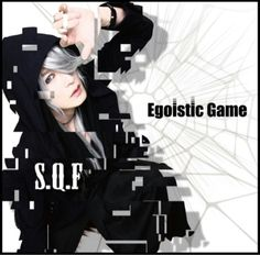 "S.Q.F new single release June 2017 ""Egoistic Game"" #SQF #michi #Maschera #Jrock #Jpop"