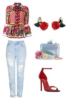 A fashion look from March 2017 featuring flower print shirt, blue distressed jeans and yves saint laurent sandals. Browse and shop related looks. I Love Fashion, Passion For Fashion, Spring Fashion, Fashion Looks, Chic Outfits, Fashion Outfits, Womens Fashion, Fashion Trends, Casual Chic