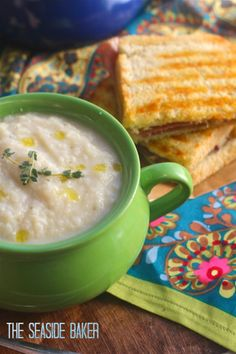 Fast & Healthy Cauliflower Soup | Gluten Free Recipe | Comfort Food | Fall |