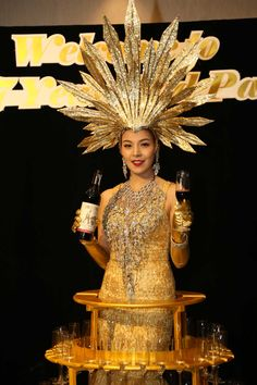 Champagne Lady | corporate event company Bangkok | event organizers Bangkok