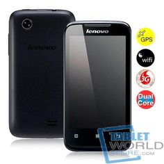 This item is Lenovo A369 3G Dual Core Smartphone w/ MTK6572 1.3GHz 4.0inch Touch Screen 256MB 512MB 2.0MP Camera Android 2.3 Bluetooth WiFi. It features MTK6572 Dual Core 1.3GHz CPU, 4.0inch capacitive touch screen, Bluetooth, etc. Other functions, such as video, WiFi, playing music, etc. can satisfy your common needs.