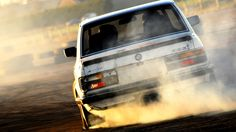 Drifting E28 BMW 5-Series