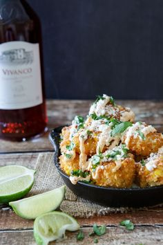 Mexican Street Corn Croquettes: All the flavors of Mexican Street corn in a bite-sized appetizer.