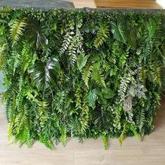 Wyjątkowy panel dekoracyjny wykonany zielonych liści wklejonych na podklad o wymiarach 100 x 80 Herbs, Plants, Home Decor, Art, Art Background, Decoration Home, Room Decor, Kunst, Herb