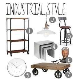 Decoration Inspiration: the World of Industrial #decorating #home #homedecor #industrial #rustic