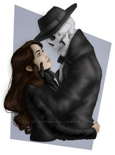 Fabulous drawing, even if Skulduggery and Valkyrie are just friends. Organic Tattoo, Skulduggery Pleasant, Detective, Star Wars Jokes, Drawing Sketches, Drawings, Just Friends, Best Series, Lord
