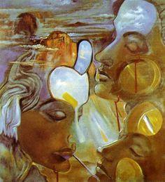 Salvador Dali Mirror Women - Mirror Heads, 1982.