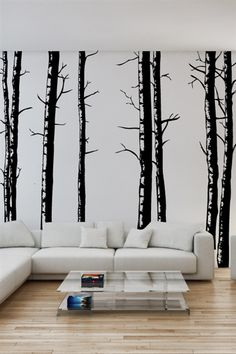 Birch Trees -Wall Decal