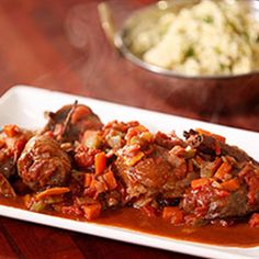 Try this Spiced Veal Osso Bucco with Herbed Couscous recipe by Chef Justine Schofield . This recipe is from the show Everyday Gourmet. Veal Osso Bucco, Couscous Recipes, Preserved Lemons, Fennel Seeds, Stew, Cooker, Spices, Stuffed Peppers, Dishes