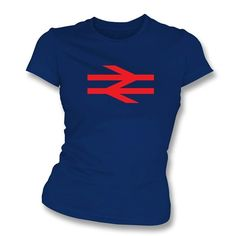 British Rail T-shirt, as worn by Damon Albarn  of Blur & Gorillaz fame. Also available as a Men's T-shirt or Hoodie.