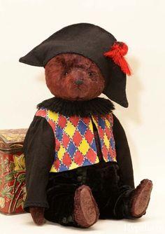 плюшевый мишка, teddy bear, artist-Hypatia