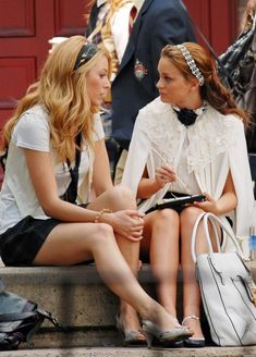 Blair Waldorf and Serena van der Woodsen | Gossip Girl