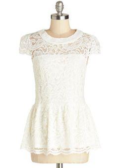 Entirely Elegant Top, #ModCloth