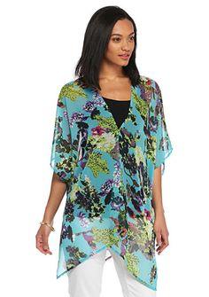 Cejon Summer Buds Kimono Topper