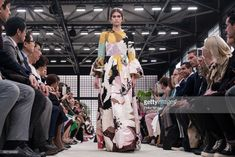 Kaia Gerber walks the runway during the Valentino show as part of the Paris Fashion Week Womenswear Fall/Winter 2018/2019 on March 4, 2018 in Paris, France.  (Photo by Peter White/Getty Images)