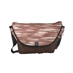 Abstract #3: Copper Rose Gold shimmer Small Messenger Bag - rose gold style stylish diy idea custom